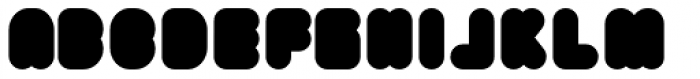 Yuki Bold Font UPPERCASE