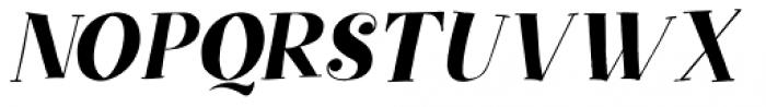 Yuli Italic Font UPPERCASE