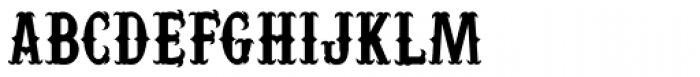 Yuma Regular Font UPPERCASE