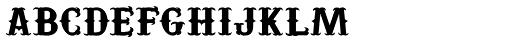 Yuma Regular Font LOWERCASE