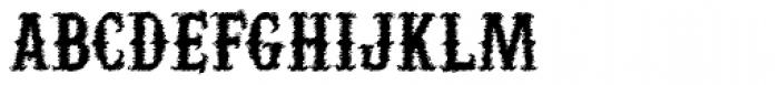 Yuma Slice Font UPPERCASE