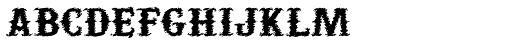 Yuma Slice Font LOWERCASE