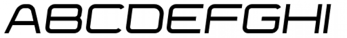Yumi Bold Oblique Font UPPERCASE