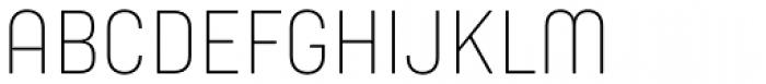 Yummo Thin Font UPPERCASE