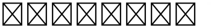Yutsuki Shogo Kana E Font OTHER CHARS