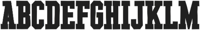 YWFT League ExtraBold otf (700) Font UPPERCASE