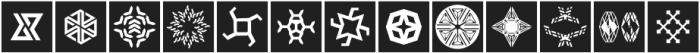 YWFT Symplify 2 otf (400) Font UPPERCASE