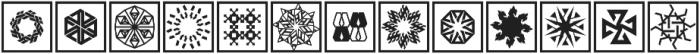 YWFT Symplify 2 otf (400) Font LOWERCASE