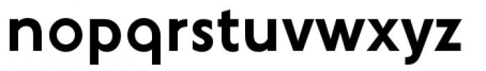 YWFT Agostina Alternate Regular Font LOWERCASE