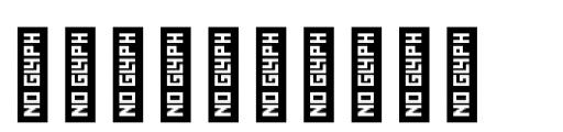 YWFT Burtonian Dingbats Font OTHER CHARS