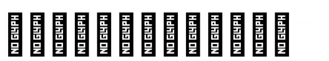 YWFT Burtonian Dingbats Font LOWERCASE