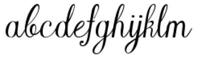 YWFT Harmony Font LOWERCASE