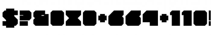 YWFT Novum Extra Bold Font OTHER CHARS