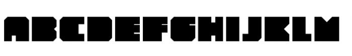 YWFT Novum Extra Bold Font LOWERCASE