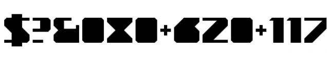 YWFT Novum Light Font OTHER CHARS