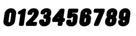 YWFT Ultramagnetic Black Oblique Font OTHER CHARS