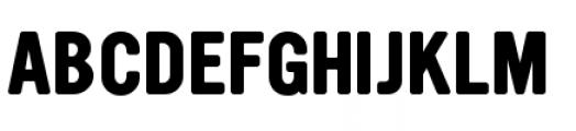 YWFT Ultramagnetic Bold Font UPPERCASE