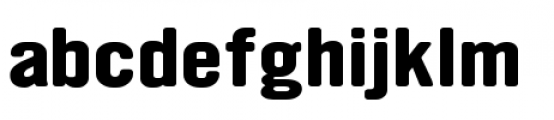 YWFT Ultramagnetic Expanded Bold Font LOWERCASE