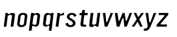 YWFT Ultramagnetic Expanded Light Oblique Font LOWERCASE