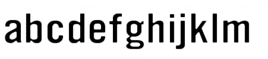 YWFT Ultramagnetic Expanded Light Font LOWERCASE