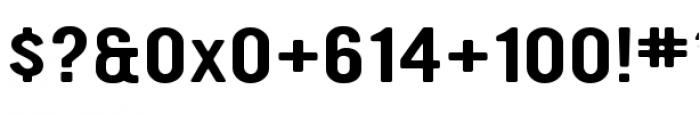 YWFT Ultramagnetic Expanded Regular Font OTHER CHARS
