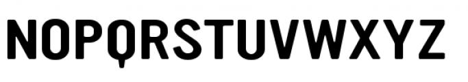 YWFT Ultramagnetic Expanded Regular Font UPPERCASE