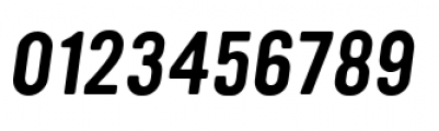 YWFT Ultramagnetic Oblique Font OTHER CHARS