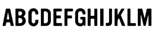 YWFT Ultramagnetic Regular Font UPPERCASE