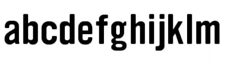 YWFT Ultramagnetic Regular Font LOWERCASE