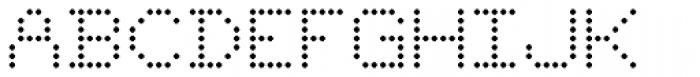 YWFT 6x7oct Alternate  Font UPPERCASE