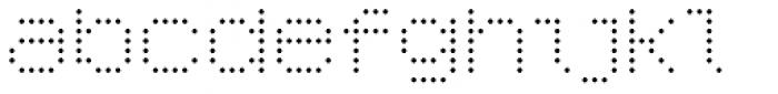 YWFT 6x7oct Light Font LOWERCASE