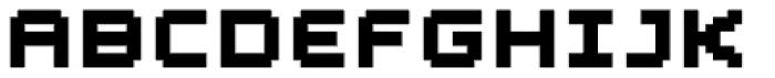 YWFT Blackgold Bold Font UPPERCASE