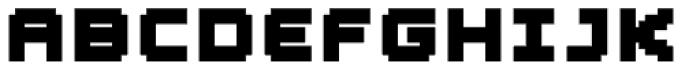 YWFT Blackgold Extra Bold Font UPPERCASE