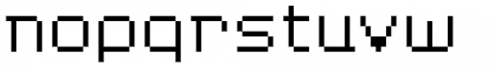 YWFT Blackgold Light Font LOWERCASE