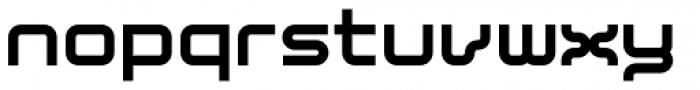 YWFT Blessed ExtraBold Font LOWERCASE