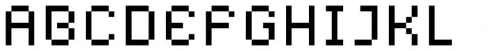 YWFT Caliper Alternate Font UPPERCASE