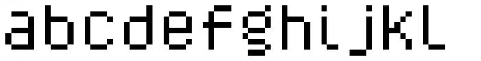 YWFT Caliper Alternate Font LOWERCASE