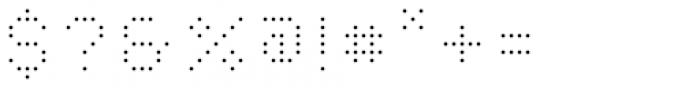 YWFT Caliper Light Cubed Font OTHER CHARS