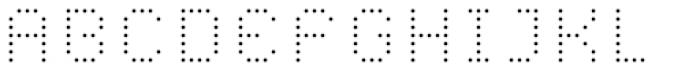 YWFT Caliper Light Cubed Font UPPERCASE