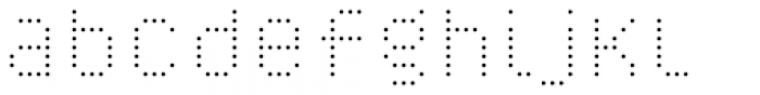 YWFT Caliper Light Cubed Font LOWERCASE
