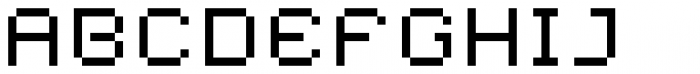 YWFT Caliper Wide Font UPPERCASE