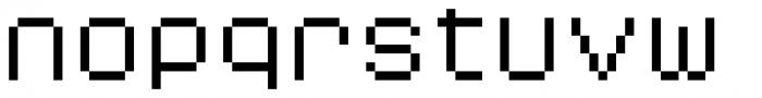 YWFT Caliper Wide Font LOWERCASE
