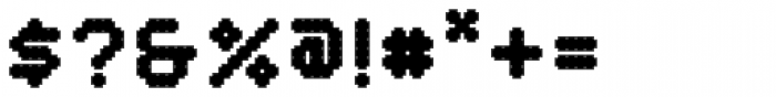 YWFT Crossover Black Font OTHER CHARS