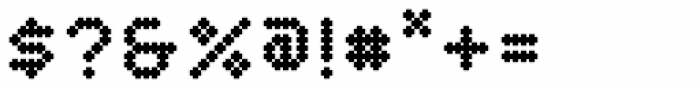 YWFT Crossover ExtraBold Font OTHER CHARS