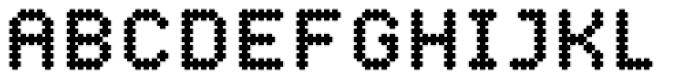YWFT Crossover ExtraBold Font UPPERCASE