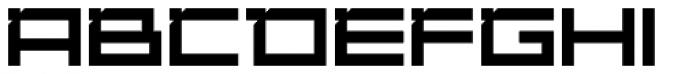 YWFT DesignGraphik ExtraBold Font UPPERCASE
