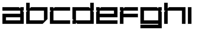 YWFT DesignGraphik ExtraBold Font LOWERCASE