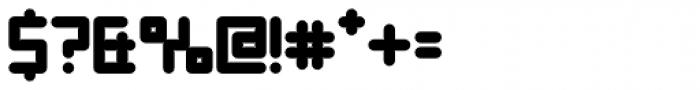 YWFT Enam ExtraBold Font OTHER CHARS