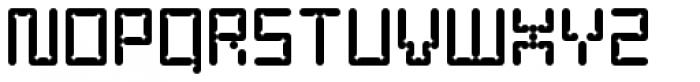 YWFT Enam Font UPPERCASE