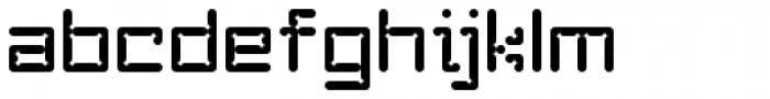 YWFT Enam Font LOWERCASE